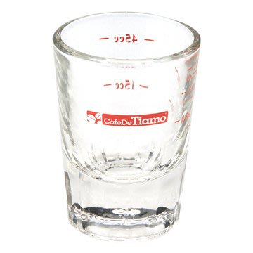 🌟現貨🌟TIAMO HG0130 義式咖啡厚底 玻璃量杯 2oz 盎司杯 量杯 耐熱玻璃杯 玻璃杯 濃縮咖啡杯