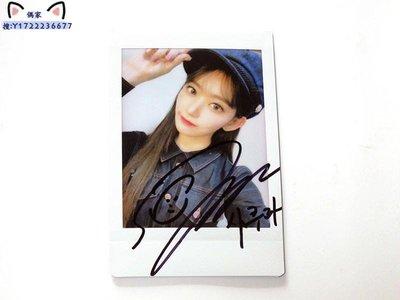 IZONE 宮脇咲良 親筆簽名周邊 原版拍立得 寶麗來照