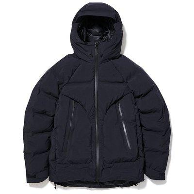 Goldwin GORE-TEX 光電子 Spur Down Jacket 連帽羽絨外套。太陽選物社