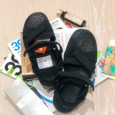 *NULL*NIKE ACG AIR DESCHUTZ 男女戶外機能涼鞋 黑色 膠底 OUTDOOR CT3303001