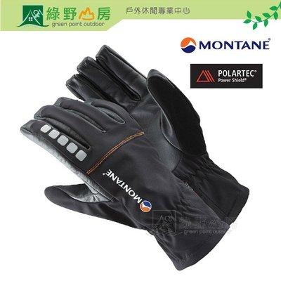 綠野山房》Montane 英國 得獎款 男 Sabretooth 劍齒虎 軟殼手套 防風保暖手套 黑 MSAGL