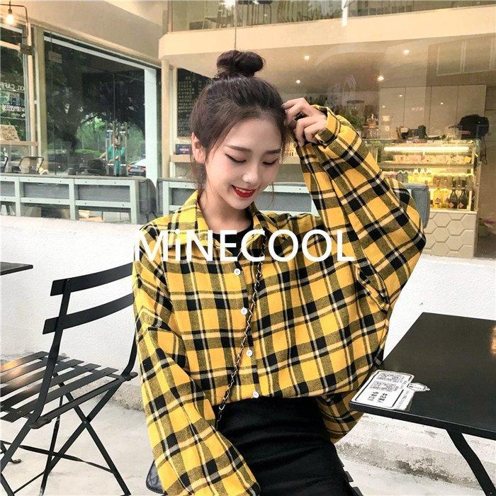MiNE SHOP韓國 燈籠袖襯衣防曬衫M9604-5三色  均碼