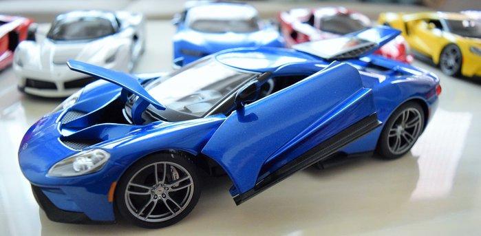 {車界模王}1:18 美式肌肉車 福特  FORD GT  全新改款 2色任選!!!!!!!!