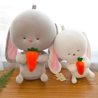 韓國可愛垂耳兔毛絨玩具公仔抱枕兔寶寶公仔小兔子玩男女生日禮物