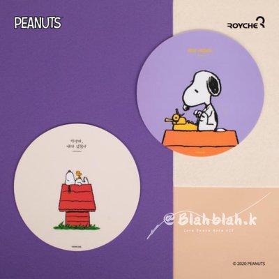 韓國 peanut 史努比 薫衣草紫 滑鼠墊