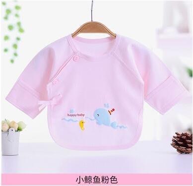 寶寶棉質肚兜半背衣舒適透氣可貼身夏季新款易清洗嬰兒吃飯小助手