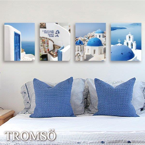 TROMSO-時尚無框畫-W119希臘風情/ 地中海 波羅 雅典☆大樹小屋☆【H0309170】S12