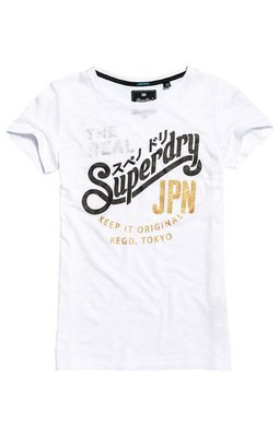 5折特惠 正品 極度乾燥 Superdry Keep It Longline Tee 經典東京街頭元素短T
