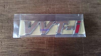 TOYOTA 前葉子板標誌 VVT-i ALTIS VIOS CAMRY WISH 一片160