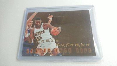 1996-97SKYBOX名人堂Dikembe Mutombo LARGER THAN LIFE難特卡一張~500元起標