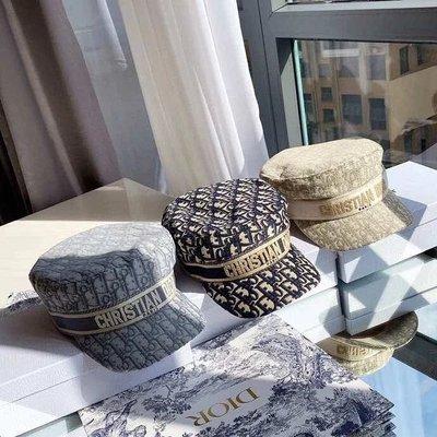 迪奧 Dior 報童帽 帽子 漁夫帽