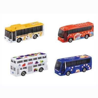 日本 多美 TOMY TOMICA 森永 糖果系列 觀光巴士 遊覽車 合金 4 台1組 盒裝 日本空運~小太陽日本精品
