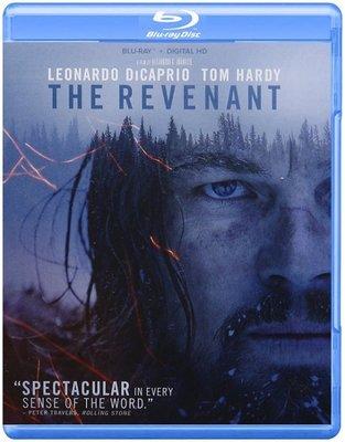 BD 全新美版【神鬼獵人】【The Revenant】Blu-ray 藍光 李奧納多狄卡皮歐