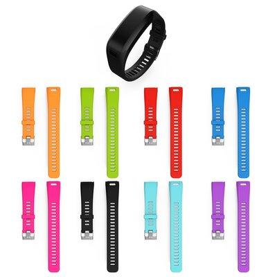 丁丁 佳明Garmin Vivosmart HR 智能手環錶帶 替換腕帶 軟硅膠錶帶 多款顔色可選 防水防汗 青春活力