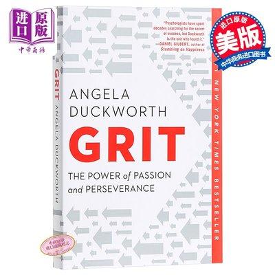 堅毅 英文原版 Grit: The Power of Passion and Perseverance 進口圖書 英文原