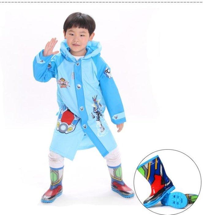 兒童雨鞋藍螞蟻春秋季鎧甲勇士秋季上新