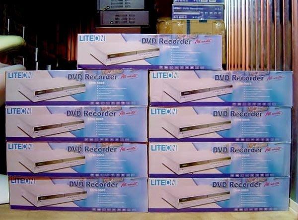 保固1年【小劉家電】庫存LITEON DVD錄放影機,LVW5005型,也可錄CD
