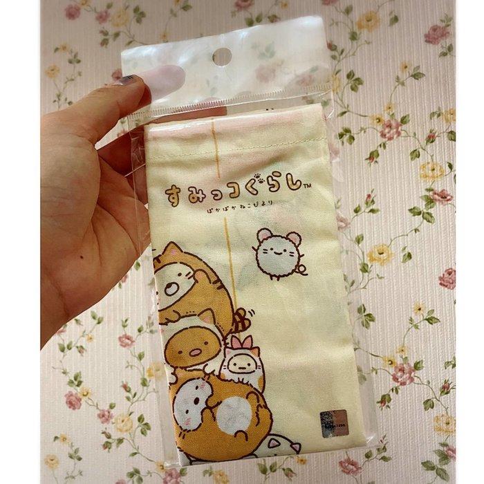 【現貨】妖精韓衣藏--日本代購---小學生最愛 日本製角落生物束口袋 XX0103