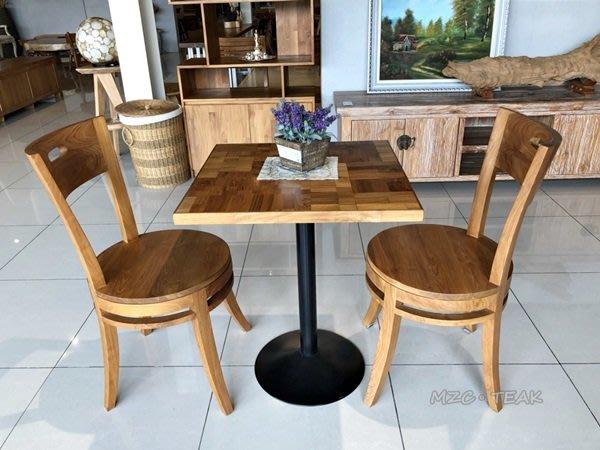 【美日晟柚木家具】柚木方形桌 鐵腳方桌 現代款 柚木桌 幾何款...餐廳最愛 機動性高 歡迎訂購