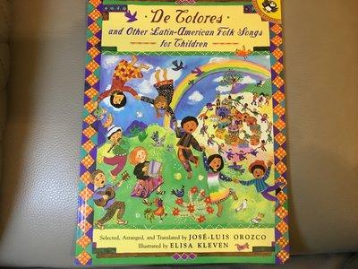 拉美兒歌和童謠合集 Latin American Folksongs for Children 薦