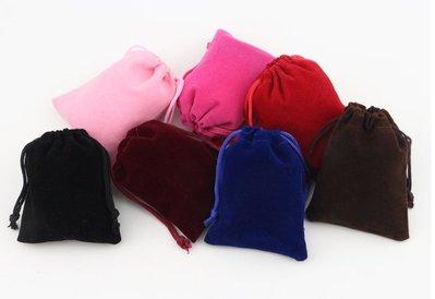 EOS 時尚精品 優質高級絨布袋 束口袋 首飾袋 贈品袋 收納袋 多色可選 (超低價/飾品/套裝/熱賣/促銷/精品)