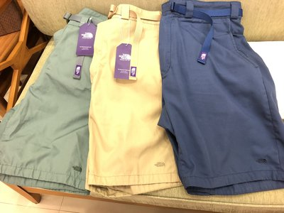 THE NORTH FACE PURPLE LABEL 65/35 Washed Field Shorts 紫標 短褲