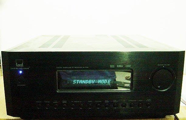 保固3個月【小劉2手家電】故障的LORD 擴大機,AV-7100型, 壞機可修理/回收!