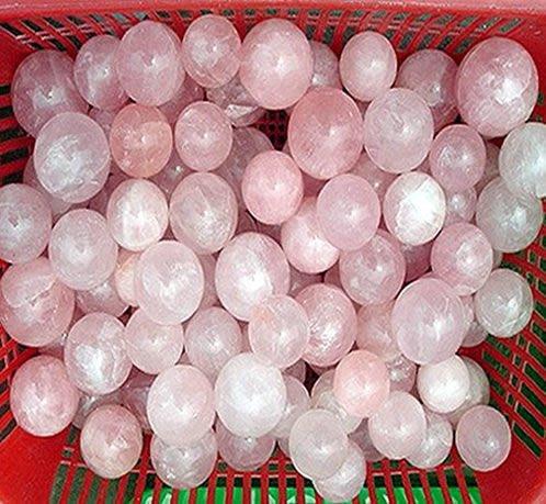 林老師開運坊~芙蓉粉晶球直徑約11cm 約1.1公斤~~淨化加持