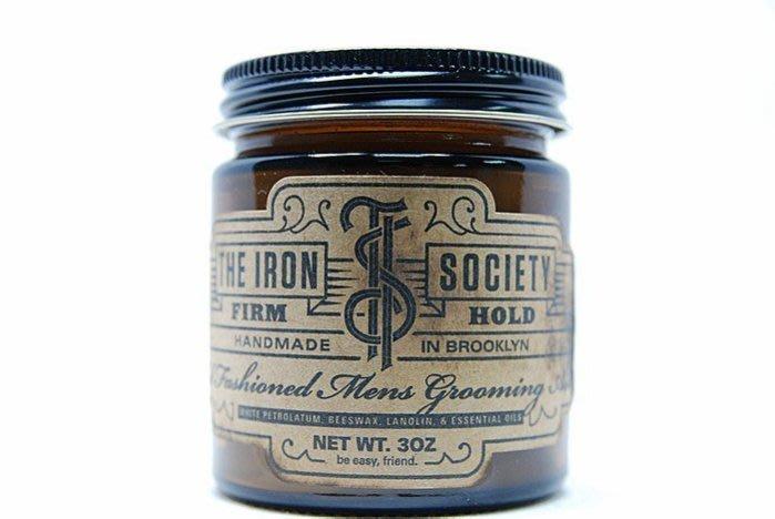 便宜生活館【造型品】The Iron Society Firm hold 鋼鐵幫 油性髮油 強力造型3.oz (可超取)