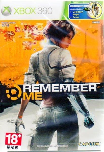 XBOX 360 遊戲 記憶駭客 Remember Me 附下載特典 (英文亞版)【板橋魔力】
