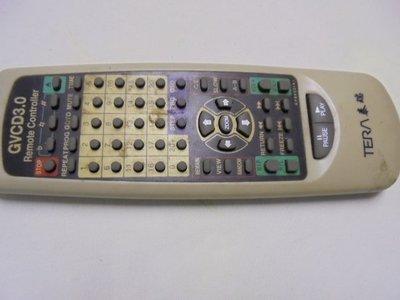 泰瑞 TERA CVCD3.0播放機遙控器,如照片,讓給有需要的人,請看說明。