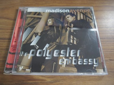 ◎MWM◎【二手CD】Madison Avenue-me polyester embassy 有ifpi,有歌詞,片況佳