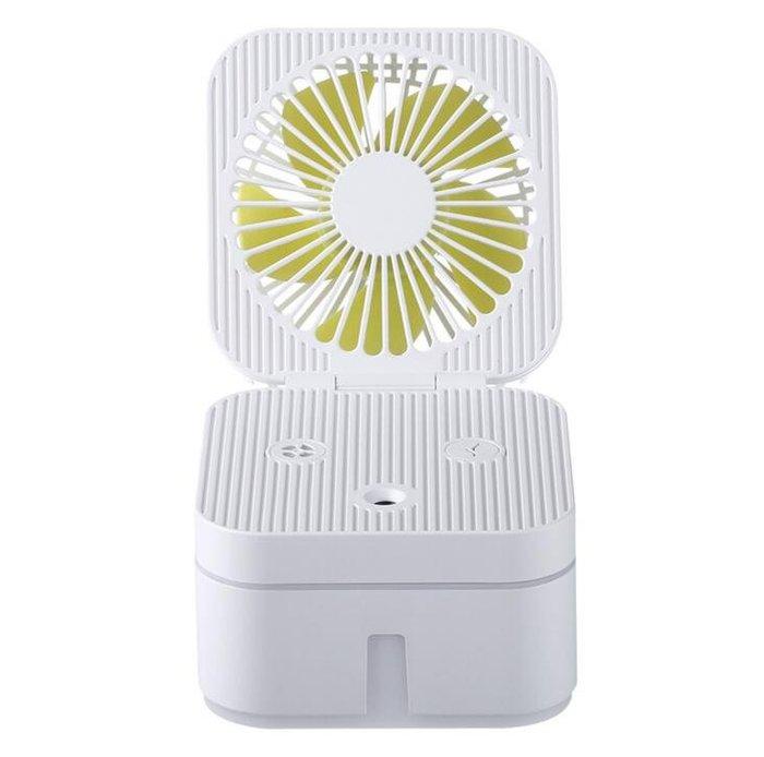創意USB小風扇 魔方加濕器 迷你扇 大容量噴霧保濕補水 辦公宿舍桌面風扇 風扇加濕器9213