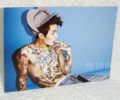 (Super Junior M) Henry - Trap 【原版特典明信片】全新!免競標~