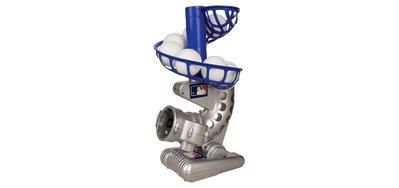 美進口孩童棒球訓練打擊棒球發球機.5顆PP輕棒球