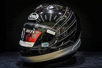 現貨《鼎鴻》ARAI頂級全罩式選手彩繪安全帽RX-7X CB BLACK HONDA 聯名款