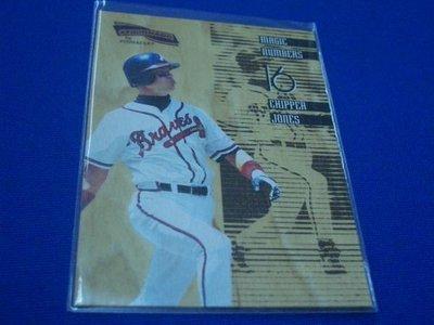 阿克漫260-29~MLB-1996年Pinnacle特卡1:72 Chipper Jones只有一張