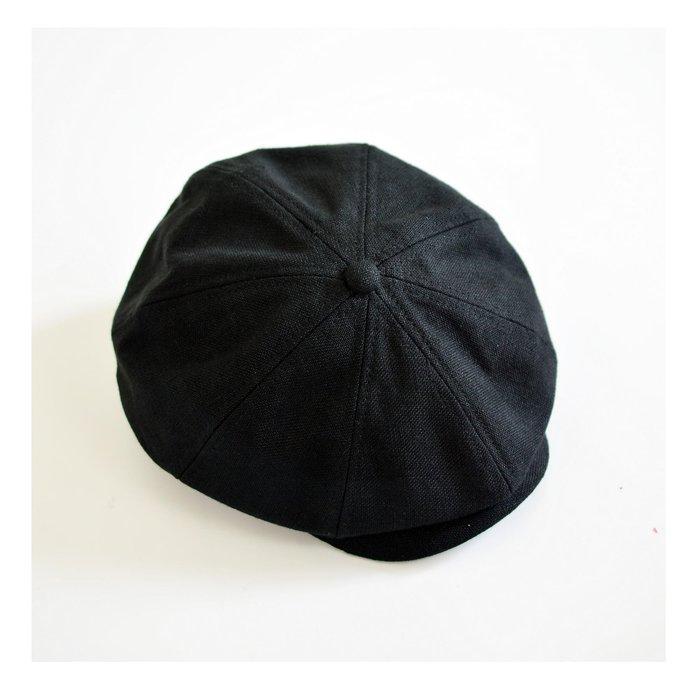 ---X10--- 2020 厚挺 麻質 南瓜帽 報童帽 八片 重磅 透氣 高品質