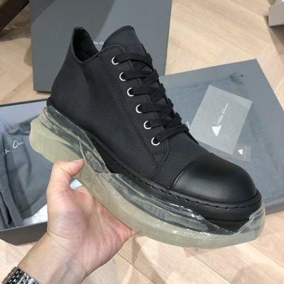 RICK OW RO DS~ DRKSHDW透明運動鞋