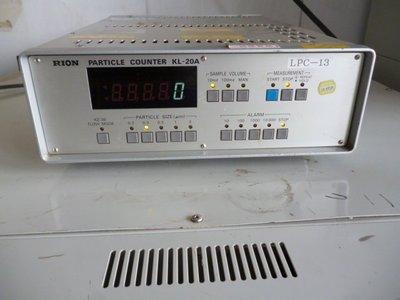 日本理音 Rion KL-20A 液體粒子計數器 Particle Counters
