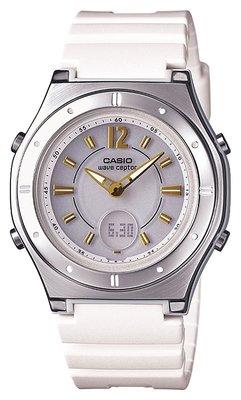 日本正版 CASIO 卡西歐 WAVE CEPTOR電波錶 LWA-M142-7AJF 女錶 太陽能充電 日本代購