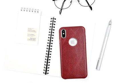 義大利真皮皮革 IPhone XS Max XR 8 7 6s Plus 保護殼手機殼保護套皮套背蓋