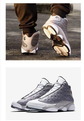 全新 Air Jordan 13 Atmosphere Grey 男籃球鞋 414571-016