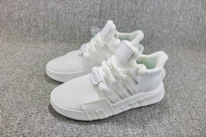 Adidas EQT BASK ADV 全白 百搭 編織 休閒運動慢跑鞋 男女鞋 DA9534