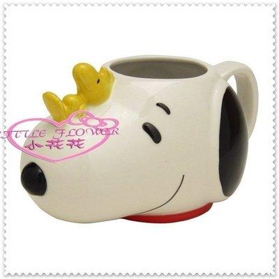 小公主日本精品 Hello Kitty 史努比 馬克杯 造型陶瓷杯 擺飾 筆筒 白.臉頭 糊塗塌客