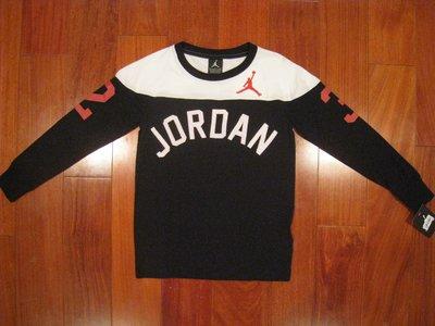 Jordan  男童長T 尺寸S 128-140cm
