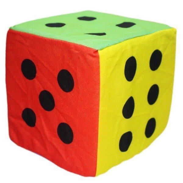 ☆天才老爸☆→15cm 海綿骰子←毛絨布骰子 有鈴鐺聲 海綿骰子 安全骰子 軟骰子 字甩 童趣 遊戲 迎新 露營 嬰兒