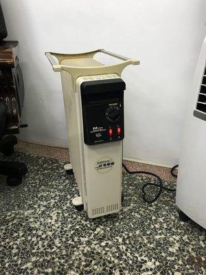 德國原裝進口北方九片式電暖器