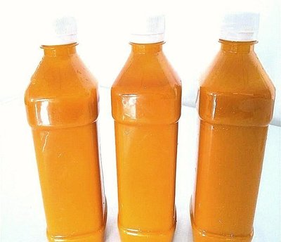 楊媽媽の手工店 芒果原汁每瓶750ml(一箱五瓶)