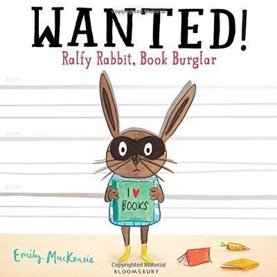 *小P書樂園* Wanted! Ralfy Rabbit, Book Burglar*  精裝